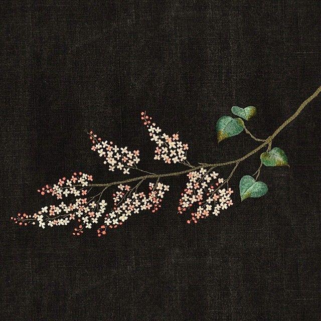 #야생화자수 #수수꽃다리 #꿈소 #꿈을짓는바느질공작소 #embroidery #lilac