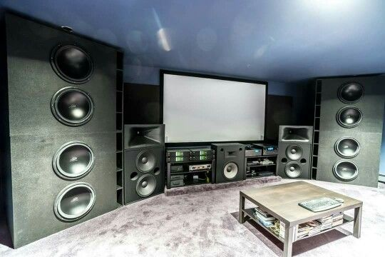 Home theater (Man Cave )