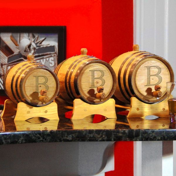 Bluegrass Personalized Whiskey Barrels (3 Sizes) (Cathys Concepts BLBL)   Buy at Wedding Favors Unlimited (https://www.weddingfavorsunlimited.com/personalized_bluegrass_whiskey_barrel_3_sizes.html).
