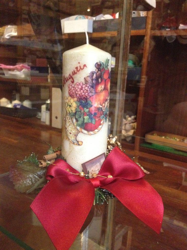 candela decorata