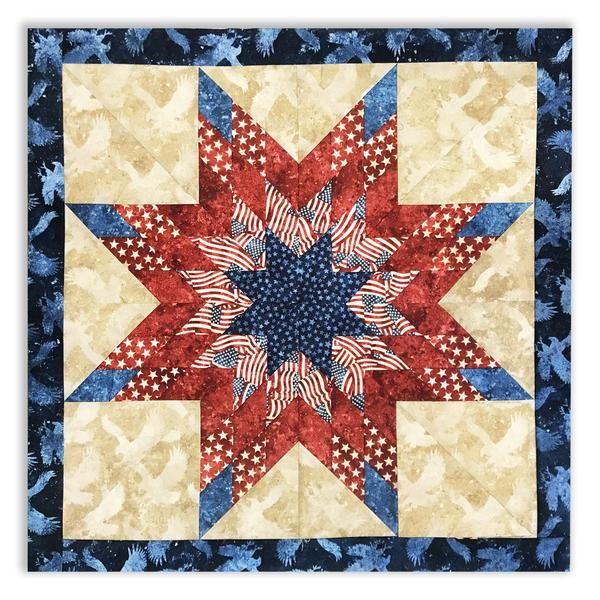 Lone Star Jelly Roll Pattern – Jordan Fabrics