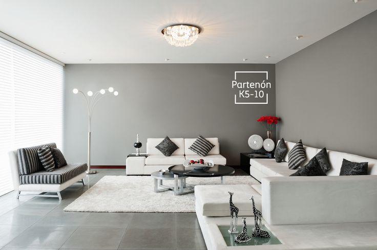 Usando tonos neutros lograrás versatilidad, son ideales para los espacios que compartes con tus amigos o en familia.