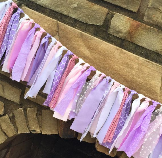This banner will make the sweetest and daintiest addition to any littles girls birthday party, baby shower, or bedroom decor. You are sure to
