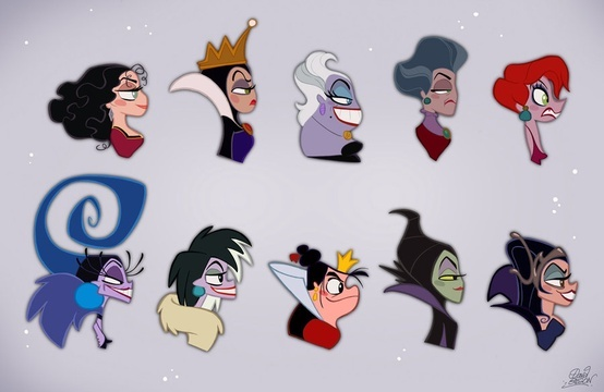 Disney Villainesses Busts