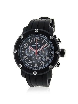 54% OFF TW Steel Men's TW134 Grandeur Black Rubber Watch