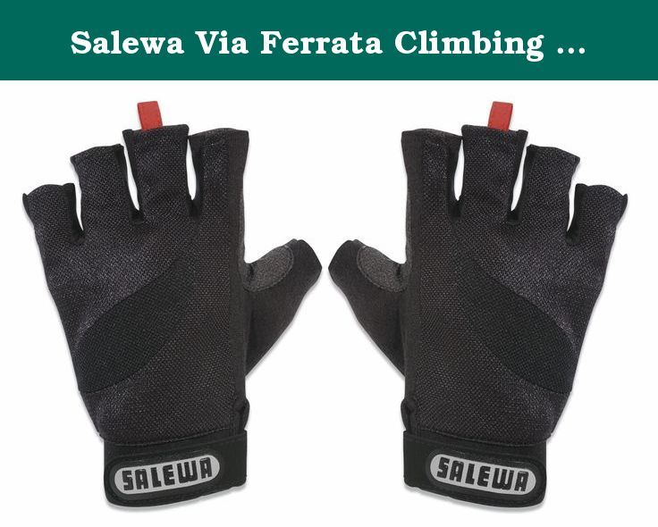 Salewa Via Ferrata Climbing Glove (Size: XXL). Climbing accessories: Type: climbing gloves Material: 100 % Nylon Additional Information: Pull-Off .