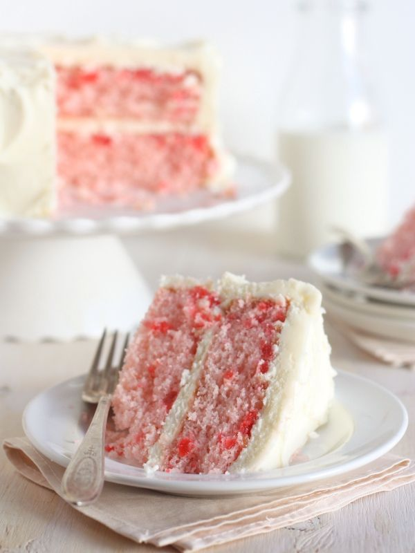This cherry chip cake, smothered in a fluffy whipped vanilla buttercream, is ahomemade version of a boxed cake mix favorite. It's also the perfect birthday cake for yours truly!  Growing up my mom let us choose what flavor of [...]