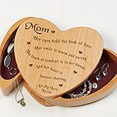 A Poem For Her Engraved Jewelry Box - Ladies Gifts - Ladies Gifts