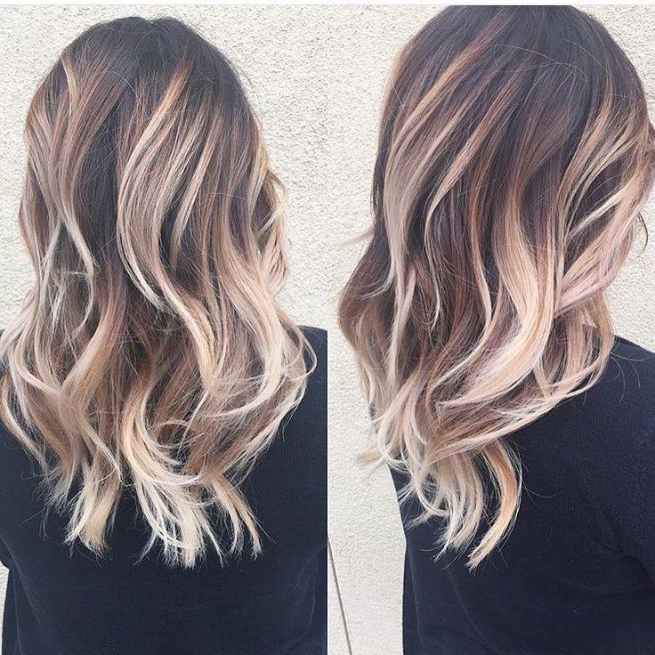 """@_ellagabriella_ @studioposh29  lovin ❤️❤️ this dimensional blonde """