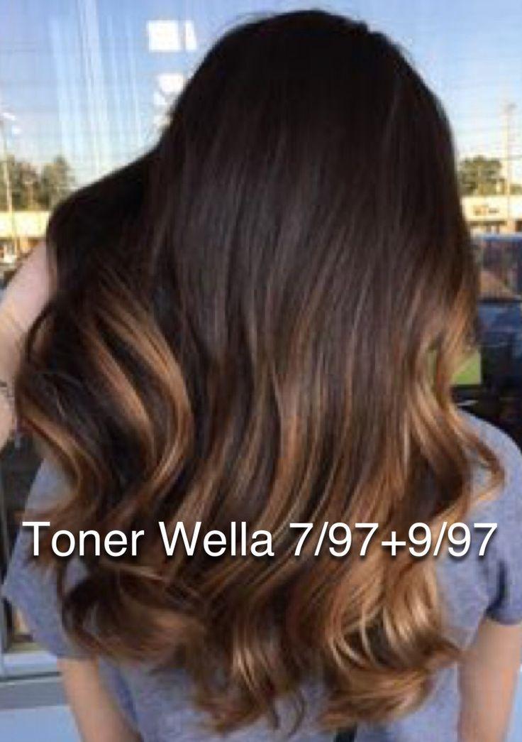 Brunette toner brown Wella color formula – #brown …