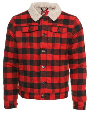 Vine Wool Canadian Lumber Jac By Bell Shirt Flannel Plaid Jacket