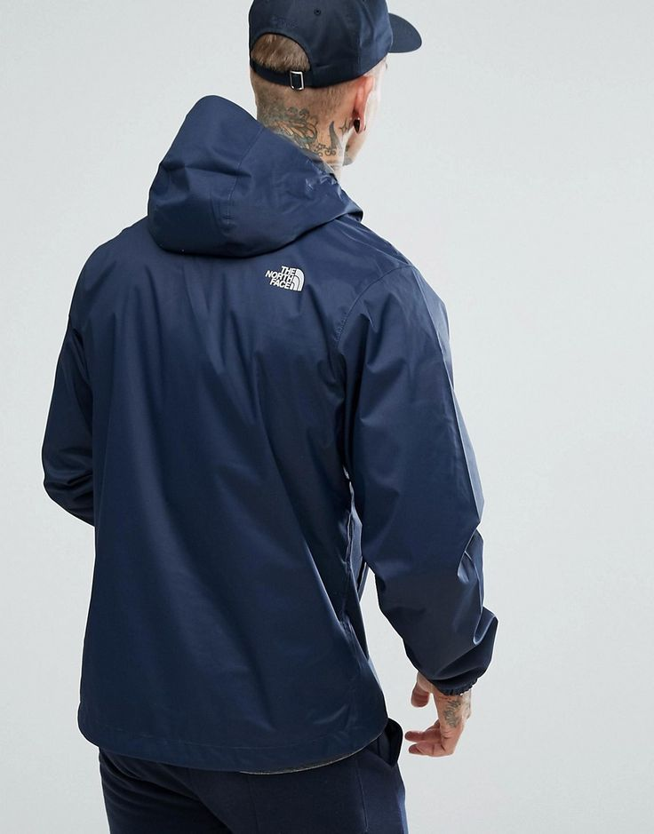 The North Face Quest Lightweight Waterproof Jacket in Navy - Navy