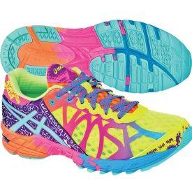 ASICS Women's GEL-Noosa 9 Running Shoe - Yellow/Turquoise/Pink   DICK'S Sporting Goods