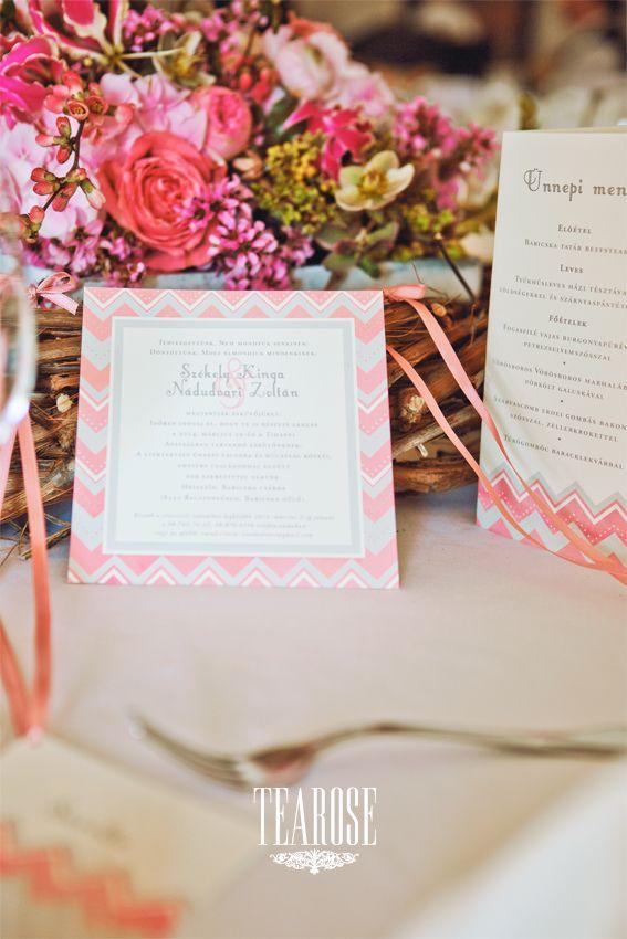 Szentgyörgyi Tünde papírmanufaktúra esküvői meghívó, esküvői ültetőkártya és esküvői menükártya | Tünde Szentgyörgyi paper manufactory wedding invitation, wedding seating card and wedding menu card