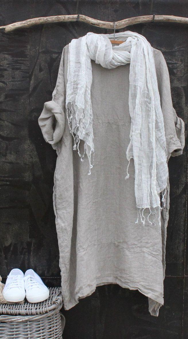 Linen Dress MegbyDesign                                                                                                                                                                                 Más