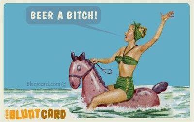 Blunt Card - Beer
