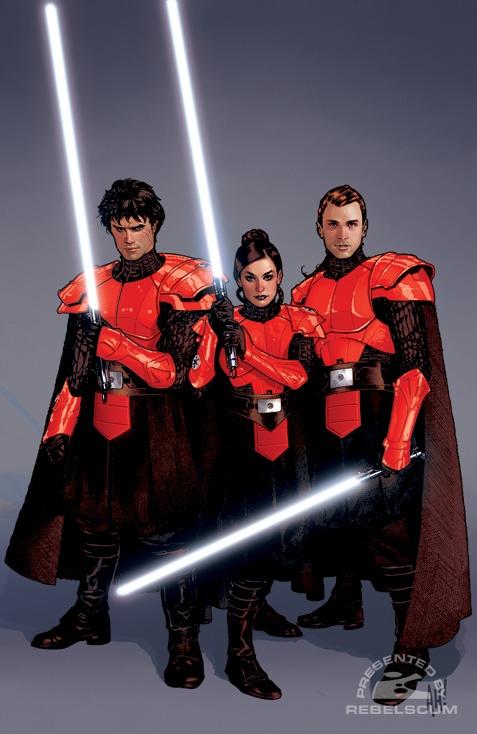 Star Wars Legacy by Adam Hughes