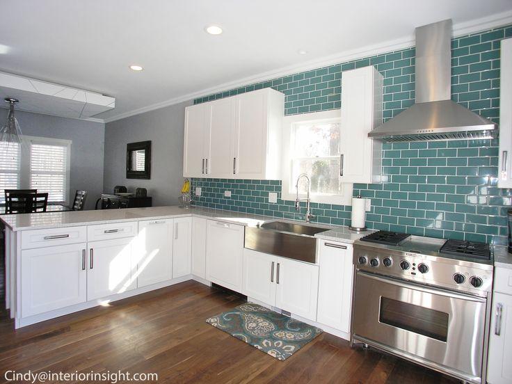 backsplash ideas kitchen islands teal kitchen ideas forward teal