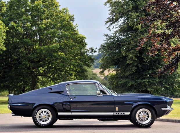 DANGEOUSLY COOL 1967 SHELBY GT500 FASTBACK - RM Auctions