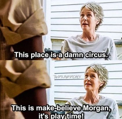 Carol & Morgan (The Walking Dead Season 7/ Ep. 2)