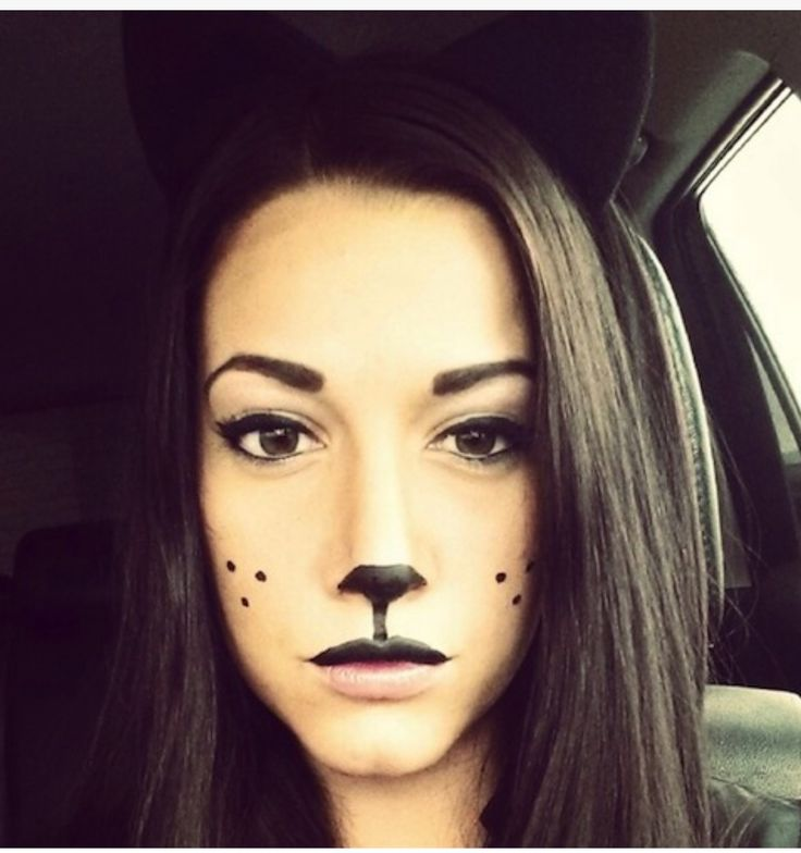 54 best Cute cat make up for Halloween #katscure images on ...