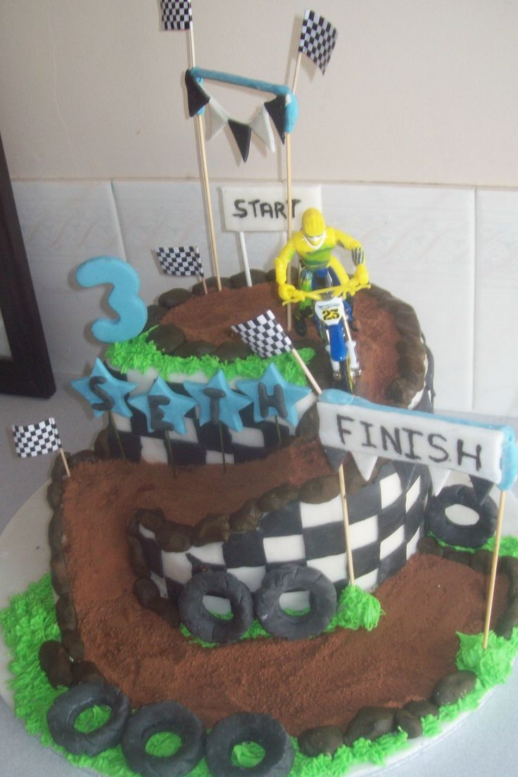 want to use this idea for a downhill cake!
