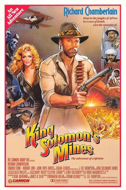 King Solomon's Mines (1985) PG-13 - Third-rate Indiana Jones wannabe.