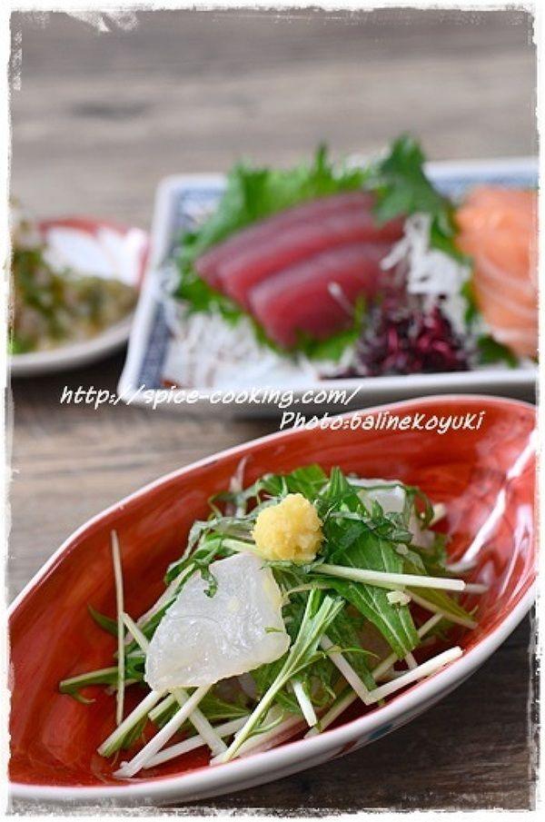 鯛と三つ葉のレモン生姜和え by バリ猫(ゆっきー) | レシピサイト ...