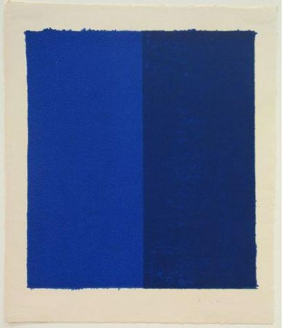 Barnett Newman, Canto VIII from 18 Cantos, 1963