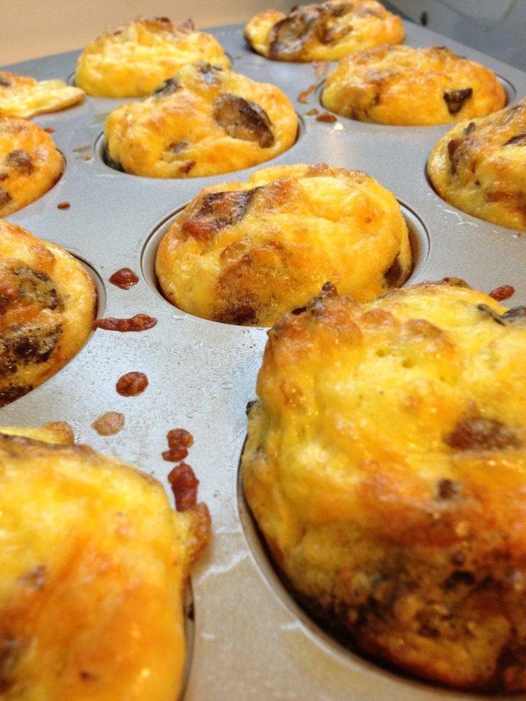 I have had these breakfast quiches and they are crazy good and very easy!