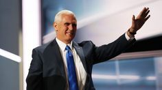 Pence gets personal in GOP convention speech:   Republican vice presidential candidate Mike Pence spoke about his upbringing and family during a speech at the GOP convention July 20. (The Washington Post)  Donald Trump's running mate, Indiana Gov. Mike Pence (R), has been in public office since 2000, and yet a majority of voters don't know who he is.