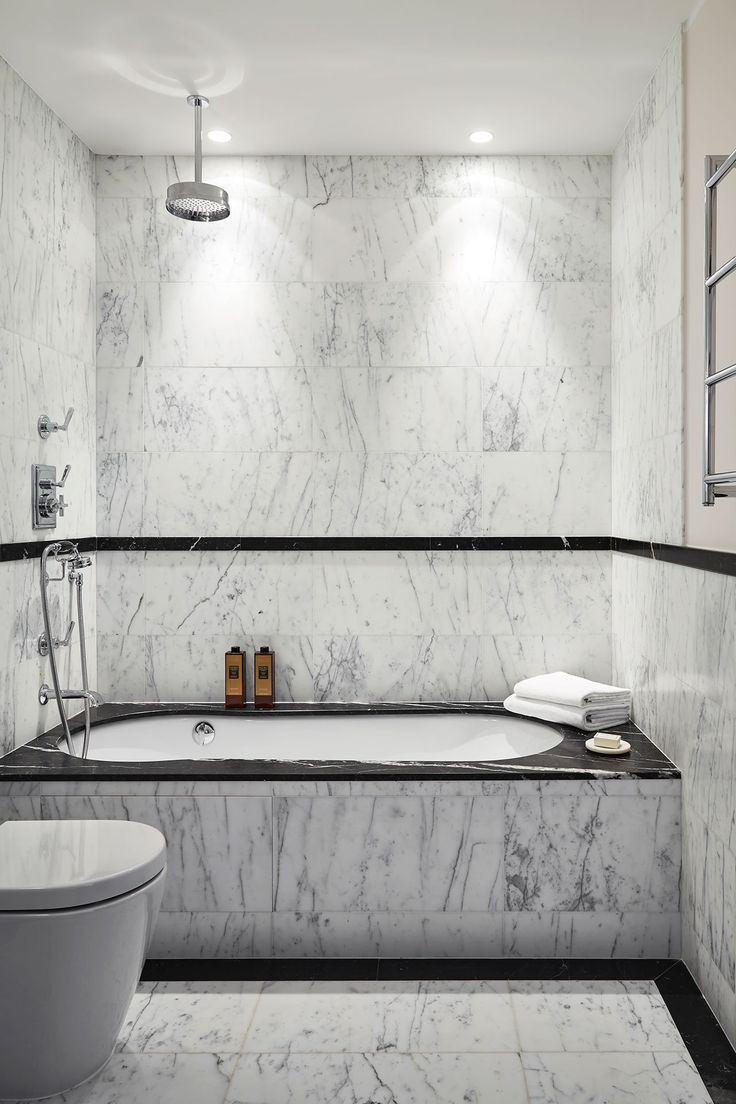 Plastic cladding bathroom walls - The Timeless Luxury Of Grace Apartment In Monaco By Humbert Poyet