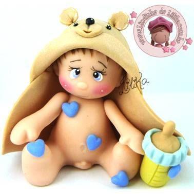 bebe disfrazado oso