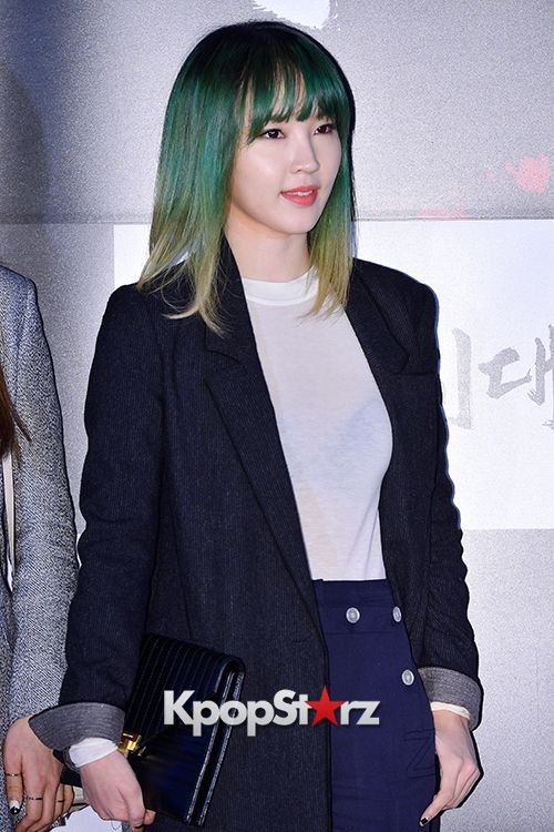 Jiyoon - 4Minute Attends a VIP Premiere of Upcoming Film 'Age of Innocence'