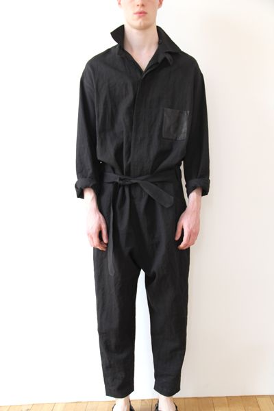 Damir Doma Men's Spring Summer 2013 overalls at Atelier NYC