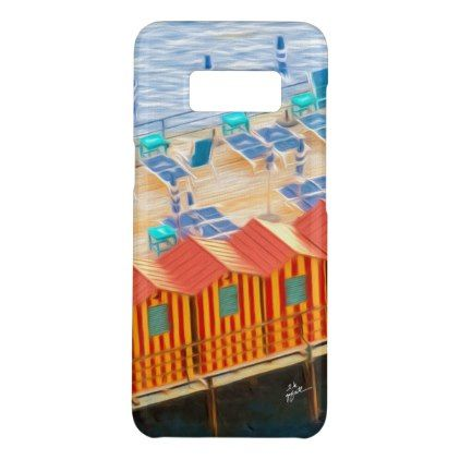 Elegant Chic Cabanas of Sorrento Case-Mate Samsung Galaxy S8 Case - #chic gifts diy elegant gift ideas personalize