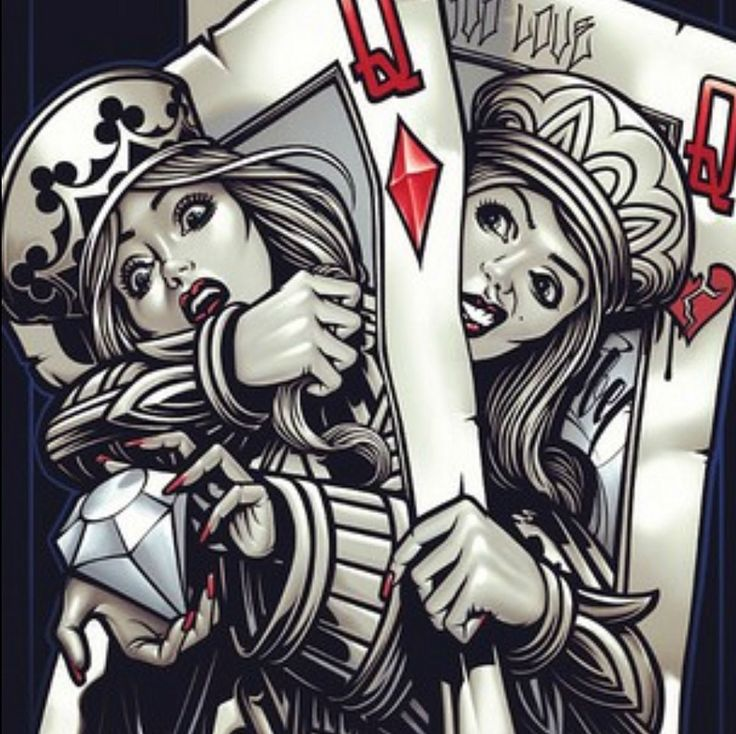 Pin by Kathie Wilson on Playing Cards Card tattoo, Og