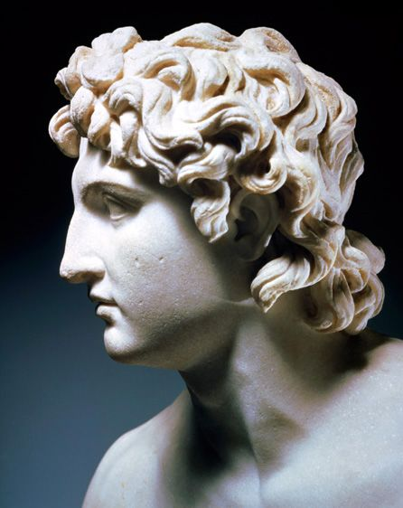 Alexander the Great bust