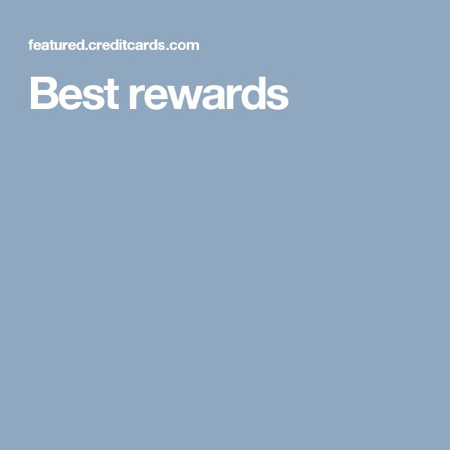 Capital One Credit Card, Best, Rewards