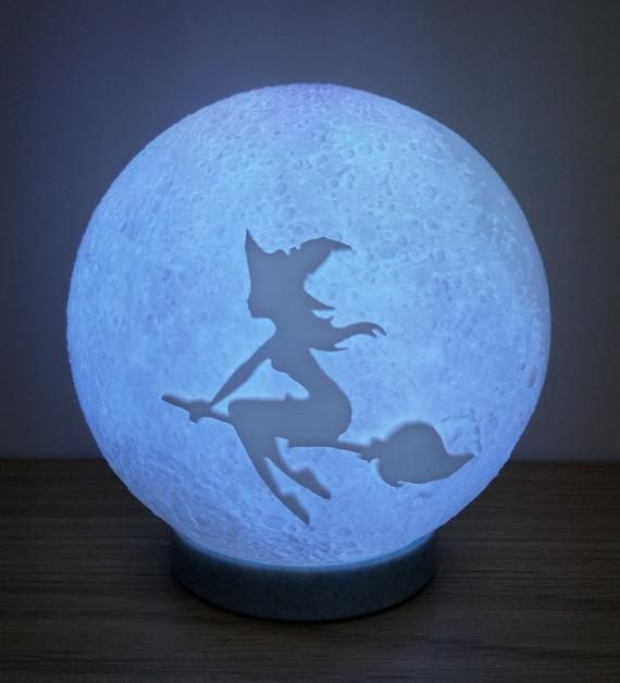 Custom Moon Lithophane Lamp 3d Printed Moon Lamp Free Uk Delivery Best Friend Birthday Surprise Birthday Presents For Dad Birthday Surprise