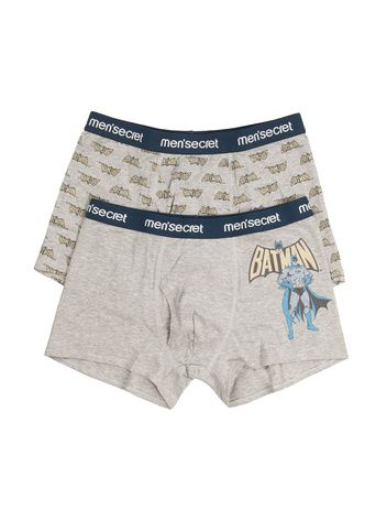 women'secret | men'secret | Pack of 2 Batman trunks for men