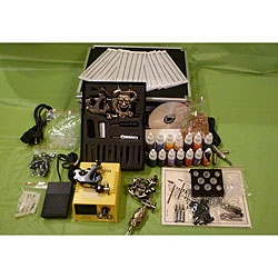 $143 wow @Overstock.com - This Emerpac 4-Gun professional tattoo machine kit includes everything you'll need to tattoo. This kit includes 14 bottles of ink and two tattoo guns in an antique bronze finish.http://www.overstock.com/Health-Beauty/Design-Element-Emerpac-Professional-4-Gun-Tattoo-Machine-Kit/5299655/product.html?CID=214117 CAD              142.77