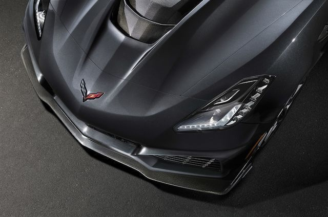 2019 Chevrolet Corvette ZR1 Front Splitter