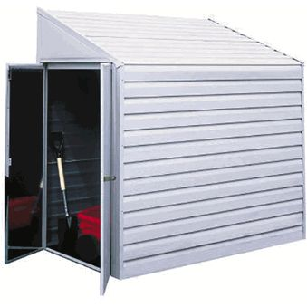 Arrow 4' x 10' Yardsaver® Metal Storage Shed Kit