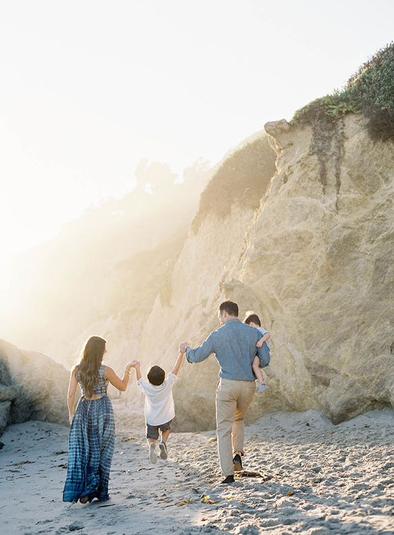 Los Angeles family photos at El Matador State Beach by Jen Huang | 100 Layer Cakelet