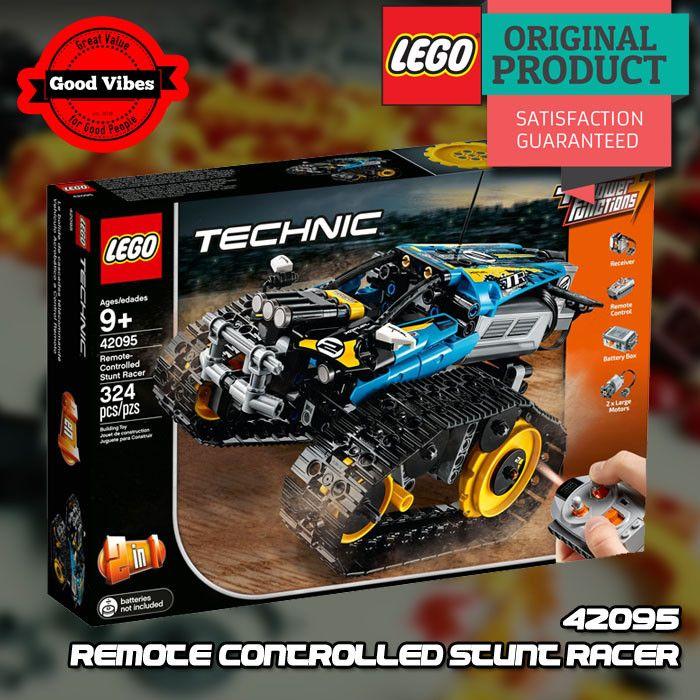 Lego Technic 42095 Remote Controlled Stunt Racer Mobil Balap Original Mobil Balap Lego Duplo Lego