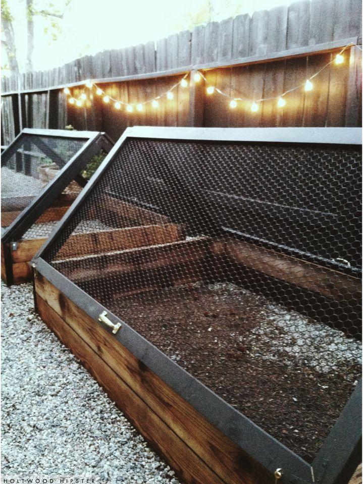 Holtwood Hipster: Holtwood House // Edibles Garden Progress   Raised Garden Beds, Screens