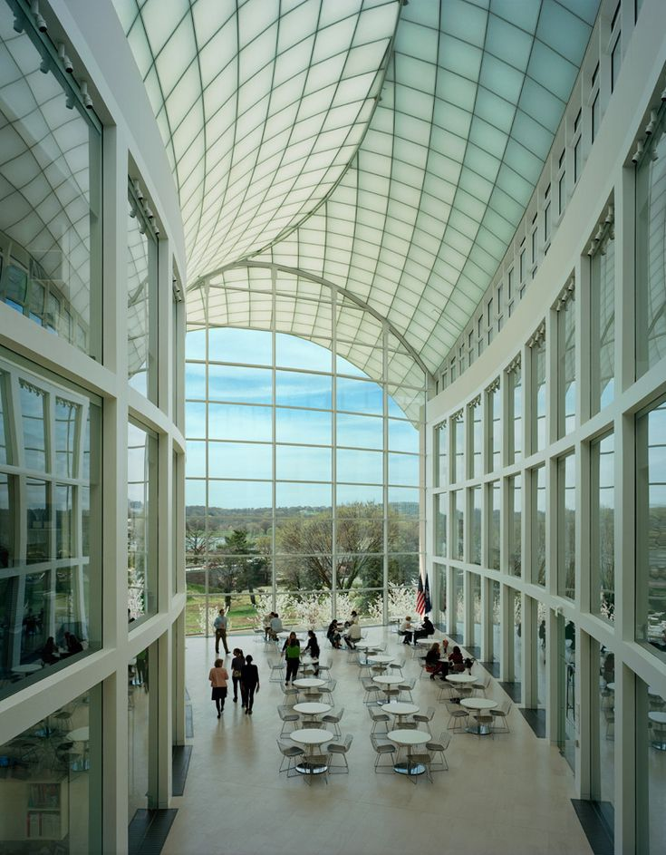 Moshe Safdie United States Institute Of Peace Definitely Reminds Me Averys Knight Center Design