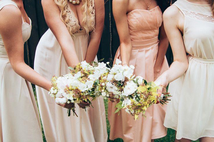 свадебные букеты, свадебное оформление харьков, декор, byketik, букет подружек невесты