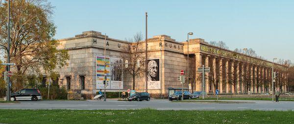 Munich's Haus der Kunst was subjected to anti-semitic vandalism. Photo: Avda via Wikimedia Commons - 2015
